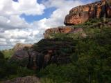 View of Burrunggui, an Arnhem Land Escarpment outlier formation, from Gunwarddehwardde Lookout  (photo copyright Ashley Maple)