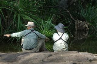 Forget traffic jams, pollution and phones, revitalize and refresh in the Top End wilderness  (photo copyright Mick Jerram)