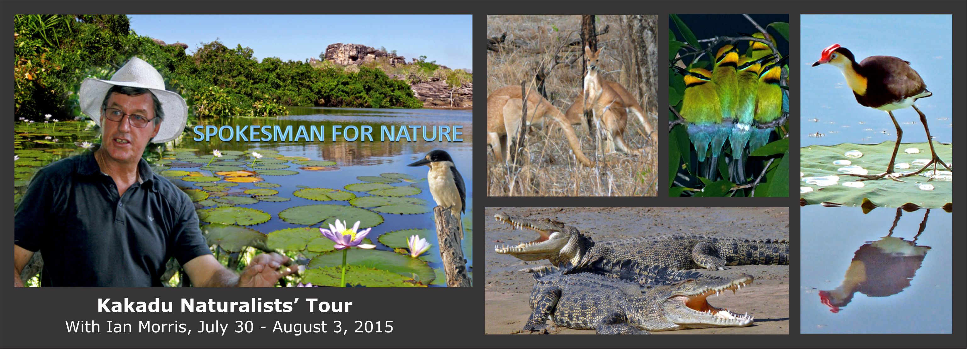 Kakadu Naturalists' Tour 30 July-3 August, 2015