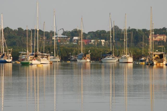 Yachts in Darwin Harbour  (photo copyright Mike Jarvis)