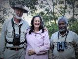 Mike, Jenny and Upali on tour in Sri Lanka  (photo copyright Mike Jarvis)