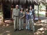 Mike, Jenny with Shyami and Rahula, owners of TOC and Starron Tours  (photo copyright Mike Jarvis)